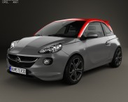 3D model of Opel Adam S 2014