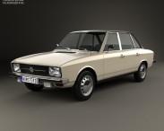 3D model of Volkswagen K70 1971