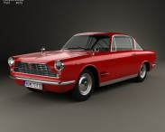 3D model of Fiat 2300 S coupe 1961
