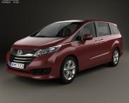 3D model of Honda Odyssey G (JP) 2014