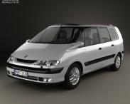 3D model of Renault Espace 1996