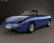 3D model of Fiat Barchetta 1995