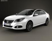 3D model of Renault Latitude 2013