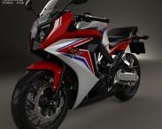 3D model of Honda CBR650F 2015