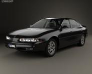 3D model of Oldsmobile Intrigue 1998