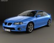 3D model of Pontiac GTO 2003