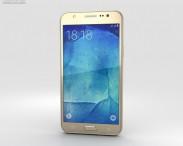 3D model of Samsung Galaxy J5 Gold
