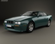 3D model of Aston Martin Virage 1989