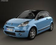 3D model of Citroen C3 Pluriel 2006