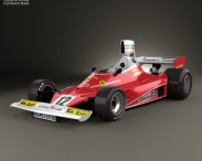 3D model of Ferrari 312 T 1975