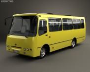 3D model of Bogdan A09202 Bus 2003