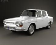 3D model of Renault 10 1965