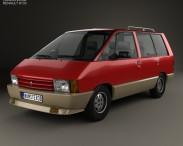 3D model of Renault Espace 1984