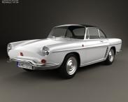 3D model of Renault Floride 1962