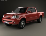 3D model of Toyota Tundra Double Cab 2003