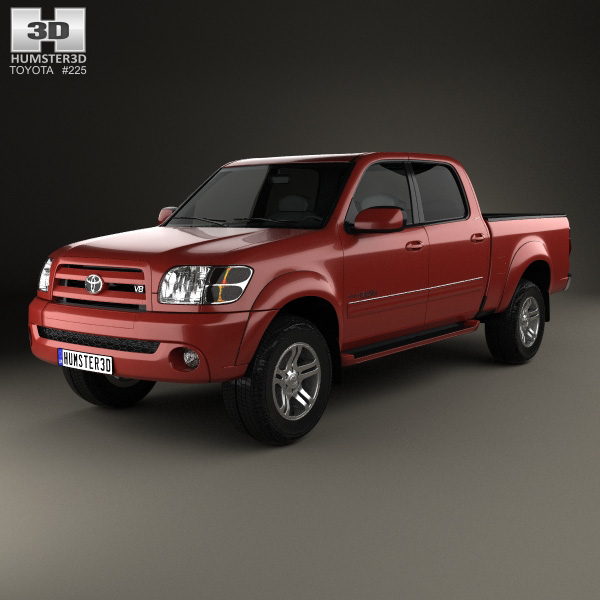 toyota tundra double cab 2003 3d model humster3d. Black Bedroom Furniture Sets. Home Design Ideas