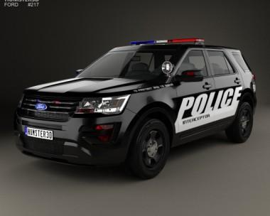 2016 Ford Police Interceptor Utility U502 2015   2017