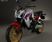 3D model of Honda CB 650F 2015