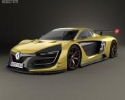 3D model of Renault Sport R.S. 01 2015