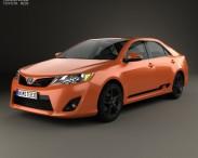 3D model of Toyota Camry (XV50) RZ SE 2014