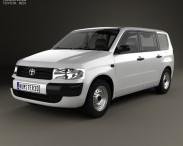 3D model of Toyota Probox Van 2002