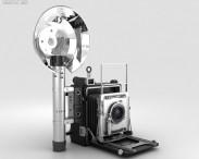 3D model of Graflex Crown Graphic Press Camera