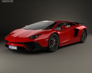 3D model of Lamborghini Aventador LP 750-4 Superveloce 2015