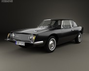 3D model of Studebaker Avanti 1962