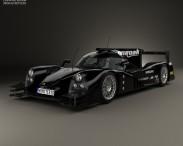 3D model of Onroak Automotive Ligier JS P2 2014
