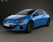 3D model of Opel Astra J OPC 2011
