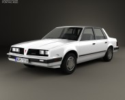3D model of Pontiac 6000 STE 1983