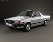 3D model of Subaru BRAT 1981