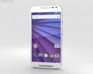 3D model of Motorola Moto G (3rd Gen) White