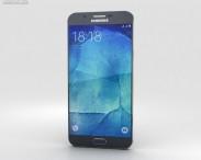 3D model of Samsung Galaxy A8 Midnight Black