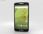 3D model of Motorola Moto X Play Black