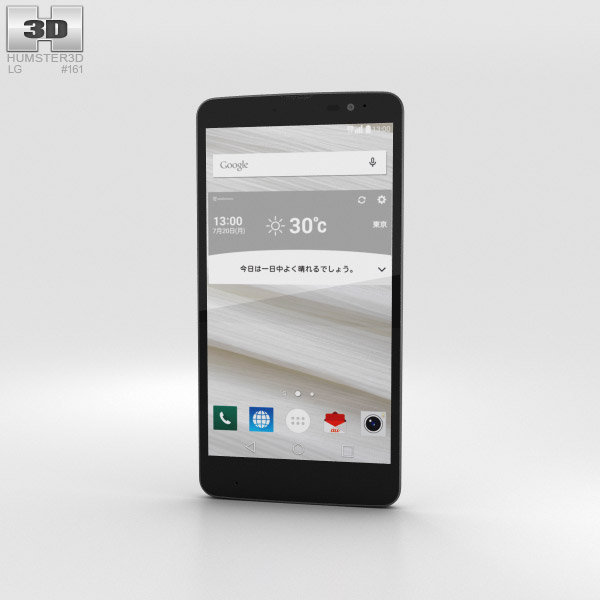 3D model of LG Isai Vivid LGV32 White