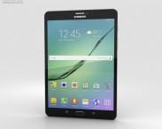 3D model of Samsung Galaxy Tab S2 8.0-inch LTE Black