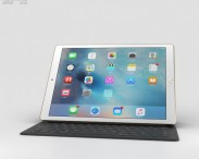 3D model of Apple iPad Pro Gold