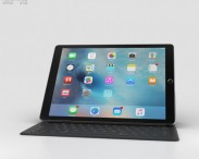 3D model of Apple iPad Pro Space Gray