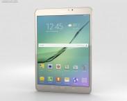 3D model of Samsung Galaxy Tab S2 8.0 Wi-Fi Gold