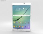 3D model of Samsung Galaxy Tab S2 8.0 Wi-Fi White
