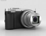 3D model of Panasonic Lumix DMC-TZ70 Silver