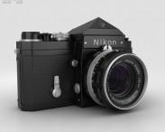 3D model of Nikon F Black