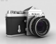 3D model of Nikon F Silver