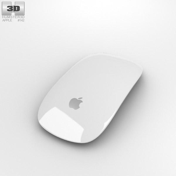 apple magic mouse 2 3d model humster3d. Black Bedroom Furniture Sets. Home Design Ideas