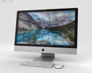 3D model of Apple iMac 27-inch 2015