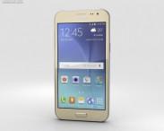 3D model of Samsung Galaxy J2 Gold