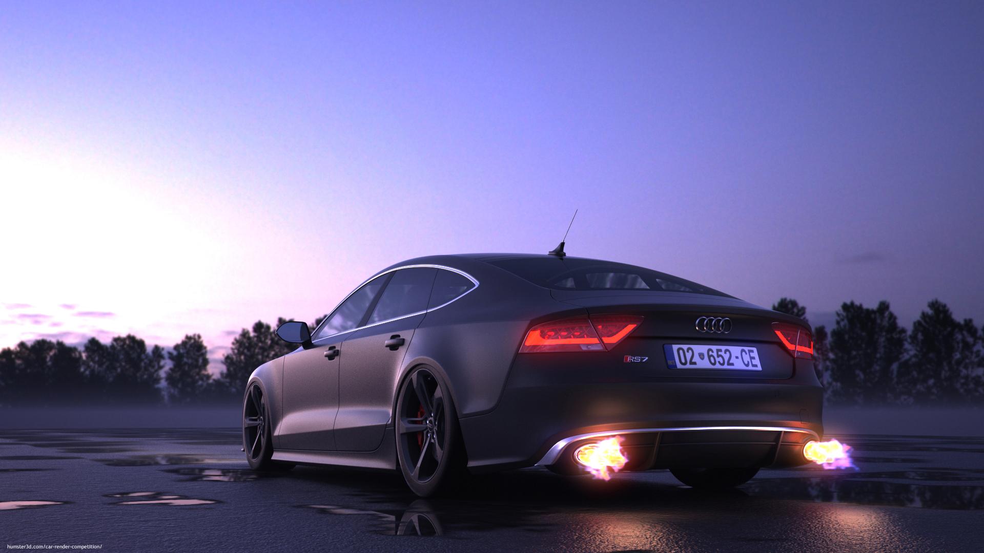 Audi Rs7 Armend Pajaziti Car Render Challenge 2015