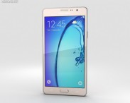3D model of Samsung Galaxy On7 Gold