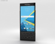 3D model of BlackBerry Priv Black